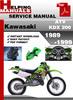 Thumbnail Kawasaki ATV KDX 200 1989-1999 Service Repair Manual Download