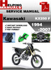 Thumbnail Kawasaki KX250 F 1994-2007 Service Repair Manual Download
