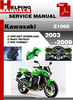 Thumbnail Kawasaki Z1000 2003-2009 Service Repair Manual Download