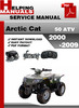 Thumbnail Arctic Cat 50 ATV 2000-2009 Service Repair Manual Download