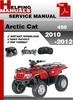 Thumbnail Arctic Cat 450 2010-2012 Service Repair Manual Download