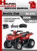 Thumbnail Arctic Cat 90 ATV 2006-2012 Service Repair Manual Download
