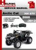Thumbnail Arctic Cat 300 ATV 2000-2012 Service Repair Manual Download