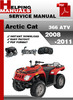 Thumbnail Arctic Cat 366 ATV 2008-2011 Service Repair Manual Download