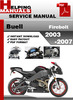 Thumbnail Buell Firebolt 2003-2007 Service Repair Manual Download