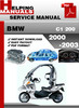 Thumbnail BMW C1 200 2000-2003 Service Repair Manual Download