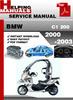 Thumbnail BMW C1 200 2000-2003 Service Repair Manual Download