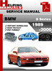 Thumbnail BMW 8 Series 1989-2000 Service Repair Manual Download