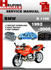 Thumbnail BMW R 1100 1992-2005 Service Repair Manual Download