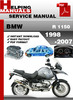 Thumbnail BMW R 1150 1998-2007 Service Repair Manual Download
