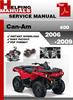 Thumbnail Can-Am 400 2006-2009 Service Repair Manual Download