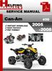 Thumbnail Can-Am 450 2005-2008 Service Repair Manual Download