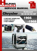 Thumbnail Chrysler Outboard 35 45 50 55 HP 1966-1968 Service Repair Manual Download