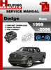 Thumbnail Dodge Ram 1999-2006 Service Repair Manual Download