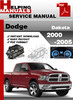 Thumbnail Dodge Dakota 2000-2005 Service Repair Manual Download