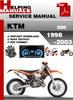 Thumbnail KTM 200 1998-2003 Service Repair Manual Download