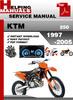 Thumbnail KTM 250 1997-2005 Service Repair Manual Download