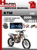Thumbnail KTM 450 2008-2011 Service Repair Manual Download