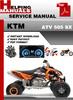 Thumbnail KTM ATV 505 SX Service Repair Manual Download