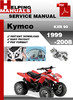 Thumbnail Kymco KXR 90 1999-2008 Service Repair Manual Download