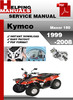 Thumbnail KYMCO Maxer 150 1999-2008 Service Repair Manual Download