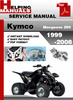 Thumbnail KYMCO Mongoose 250 1999-2008 Service Repair Manual Download