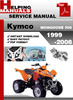 Thumbnail Kymco MONGOOSE 300 1999-2008 Service Repair Manual Download
