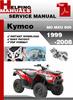 Thumbnail Kymco MO MXU 500 1999-2008 Service Repair Manual Download