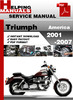 Thumbnail Triumph America 2001-2007 Service Repair Manual Download