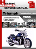 Thumbnail Triumph Thunderbird 1600 2009-2012 Service Repair Manual Download