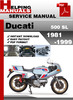 Thumbnail Ducati 500 SL Pantah 1981-1999 Service Repair Manual Download