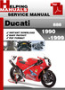 Thumbnail Ducati 888 1990-1999 Service Repair Manual Download