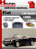 Thumbnail Fiat 124 Spider 1980-1999 Service Repair Manual Download