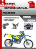 Thumbnail Husaberg 2000-2004 Service Repair Manual Download