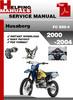 Thumbnail Husaberg FC 550-4 2000-2004 Service Repair Manual Download