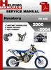 Thumbnail Husaberg FE 450 2000-2004 Service Repair Manual Download