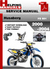 Thumbnail Husaberg FE 501 2000-2004 Service Repair Manual Download