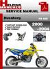 Thumbnail Husaberg FS 450 2000-2004 Service Repair Manual Download
