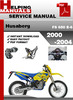 Thumbnail Husaberg FS 650 E-6 2000-2004 Service Repair Manual Download