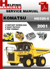 Thumbnail Komatsu HD325-5 2001 and up Service Repair Manual Download