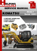 Thumbnail Komatsu PC40-7 Serial 18001 and up Shop Service Repair Manual Download
