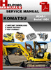 Thumbnail Komatsu PC45-1 Serial 1001 and up Shop Service Repair Manual Download