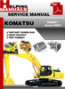 Thumbnail Komatsu PC300-7 Serial 40001 Service Repair Manual Download