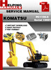 Thumbnail Komatsu PC1100-6 Serial 10001 and up Shop Service Repair Manual Download