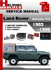 Thumbnail Land Rover Defender 110 1983-1990 Service Repair Manual Download