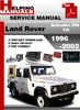 Thumbnail Land Rover Defender 300 Tdi 1996-2002 Service Repair Manual Download
