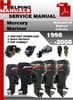 Thumbnail Mercury Mariner Outboard 25 BigFoot 4-Stroke 1998-2008 Service Repair Manual Download