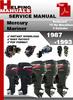 Thumbnail Mercury Mariner Outboard 75 Hp Marathon 3 Cylinder 1987-1993 Service Repair Manual Download