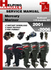 Thumbnail Mercury Mariner Outboard 115 4-stroke EFI 2001-2006 Service  Repair Manual Download