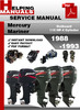 Thumbnail Mercury Mariner Outboard 115 HP 4 Cylinder 1988-1993 Service Repair Manual Download